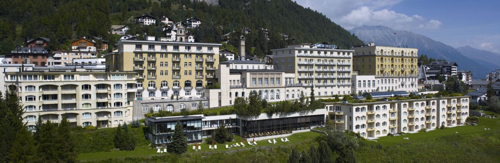 Kulm Hotel Summer Exterior