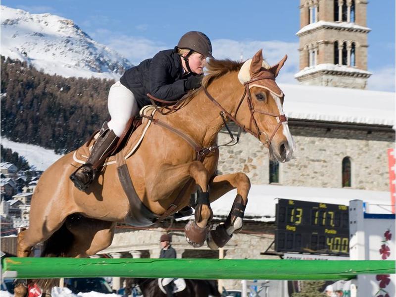 The St. Moritz Concours Hippique