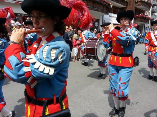 zermatt Annual Folklore Parade