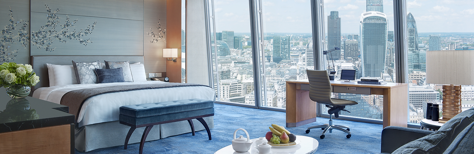 Premier City View Room - Shangri-La Hotel, At The Shard, London-crop